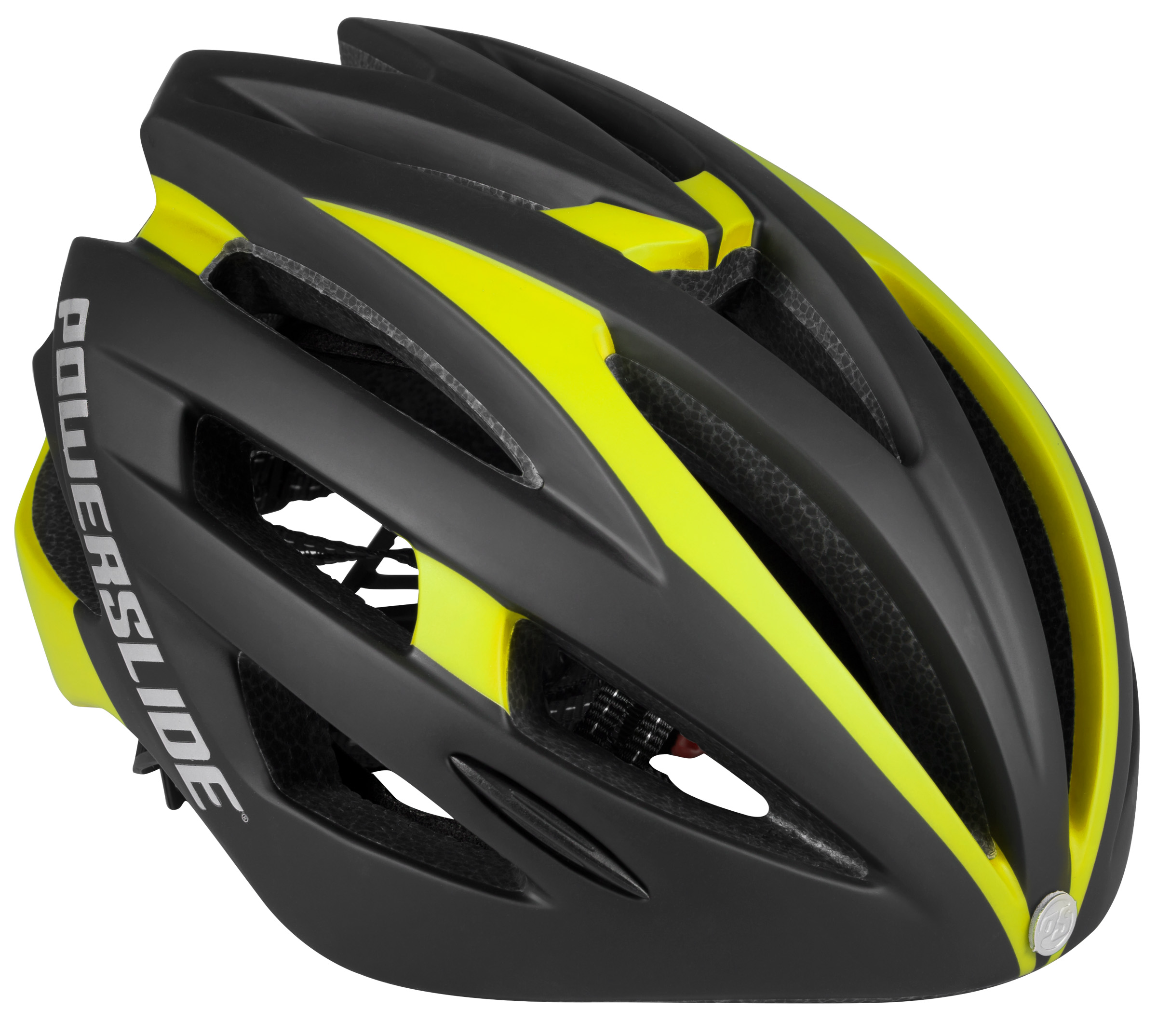 Helma Powerslide Race Attack yellow - 50-54cm